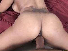 Doggy style pounding Natasha and cumshot on anus