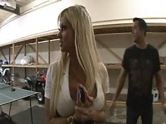 Big dick gets Nikita to strip for him