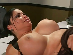 Hot Sophia sreading her pussy and doggy fuck
