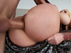 Anal big wet ass fuck and rear entry rough fuck for Candy Manson