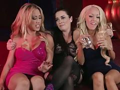Having some party action from two lesbian girls Capri Cavanni and Taylor Vixen