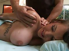Jenna Presley enjoying a sexual massage