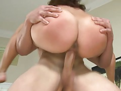 Holding up and big ass latina Marcella penetration in the air