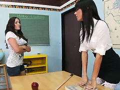Big tits at school Gia is having problems with her class