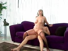 Reverse cowgirl sex with Bailey and anal close up view