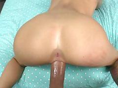 Doggy style hardcore stretching vagina