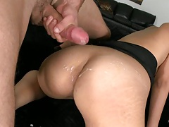 Latina cumshot
