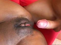 Ariel Alexis spreading her pussy for fat cock and ass fingered