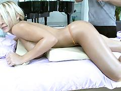 Hot busty Madison Ivy loving this sexual massage
