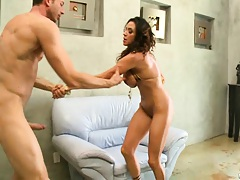 Sweet ass spreading and gapping Ariellas fresh ass